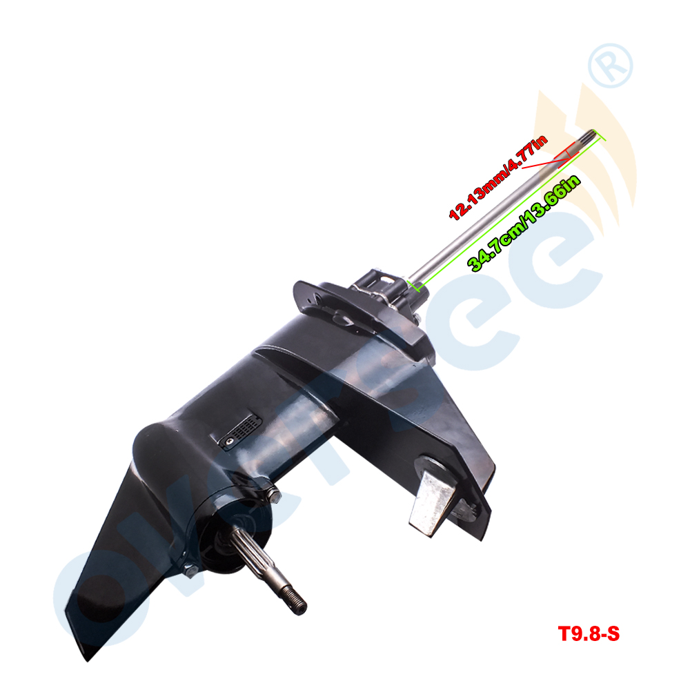 3B2S87301-0 Gear Box Assy Lower Unit Assy With Short Shaft For Tohatsu 9.8HP 8HP 2 Stroke Outboard Engine Parsun HDX 9.8BM