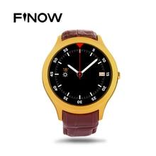 """Finow X1 K8 Mini Smart Uhr Android 4.4 Dual Core 1,3 """"IPS Pulsmesser Schrittzähler 3G WIFI Smartwatch Uhr Für iOS Android"""