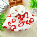 0-2 Years Fashion Baby Coat Cotton Thick Winter Warm Girl Clothes Infant Coats For Girls  Jacket Baby-Snowsuit