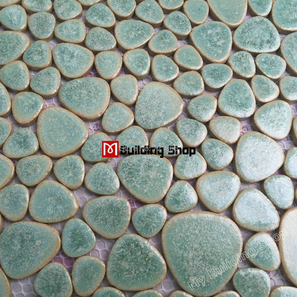 Glazed porcelain tile glass pebble mosaic tile ppmt044 pebble glazed porcelain tile glass pebble mosaic tile ppmt044 pebble flooring tiles porcelain pebble mosaic ceramic tile backsplash on aliexpress alibaba doublecrazyfo Gallery