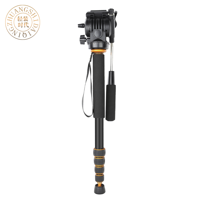 QZSD Aluminium Alloy Q-188 Monopod Professional Portable Digital Camera Tripod For SLR Photography Handle  DHL Free Shipping hot sale q999 magnesium aluminium tripod portable slr camera q999 tripod monopod variable alpenstock 3 in1 wholese free shipping
