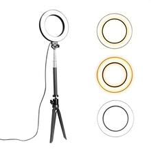 Get more info on the  Dimmable LED Phone Camera Selfie Ring Makeup Flash Light Lamp with Stand Tripod Wholesale