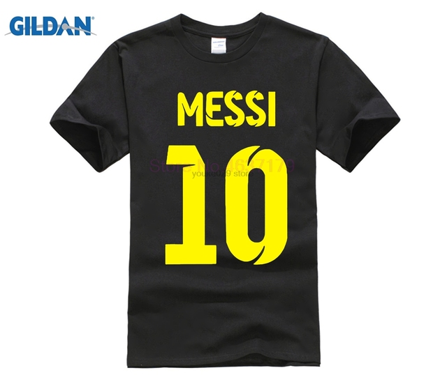 c2f461a25 Lionel Messi Shirt camiseta camisa T shirt men Short sleeve Messi T-shirt  Messi fans tshirt Top Argentina Tee shirts