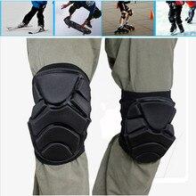 Protective Knee Pads,Soft Roller Skating Knee Padded,Skiing Skating Snowboard Impact Protection Tools HXHX-01