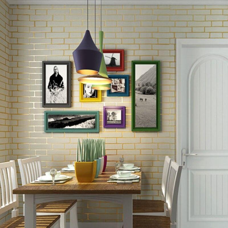 2016 3D Design Moderne Brique Papier Peint Revêtement Mural ...