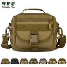 Pelindung Plus K315 Outdoor Sports Bag Penyamaran Nylon Taktikal Tentera Molle EDC Pouch Hiking Berbasikal Messenger Bag