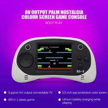 8 Bit 2.5 inch RS-8 Mini Family Video Game Console Portable Handheld Game Players Built-in 260 Classic Games AV TV Output Tetris цена и фото