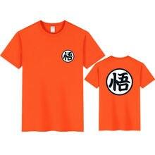2021 novo verão t camisas goku traje dos homens tshirt japão anime masculino super z beerus laranja camiseta feminina roupas de algodão camisetas superiores