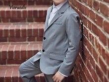 Kids Suit Tuxedos Fashion Wedding Suits Bridegroom Groomman Children 2 Piece