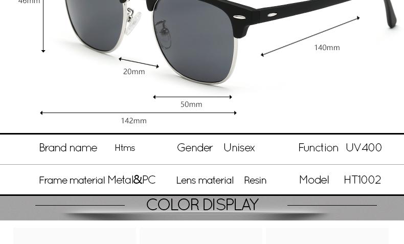 HTB13Ku6PVXXXXa9XXXXq6xXFXXXS - 2018 TOP 16 Color Lens Luxury Brand High Quality Rays Sunglasses Women Men Round Shades Ladies Aviator Sun Glasses UV400