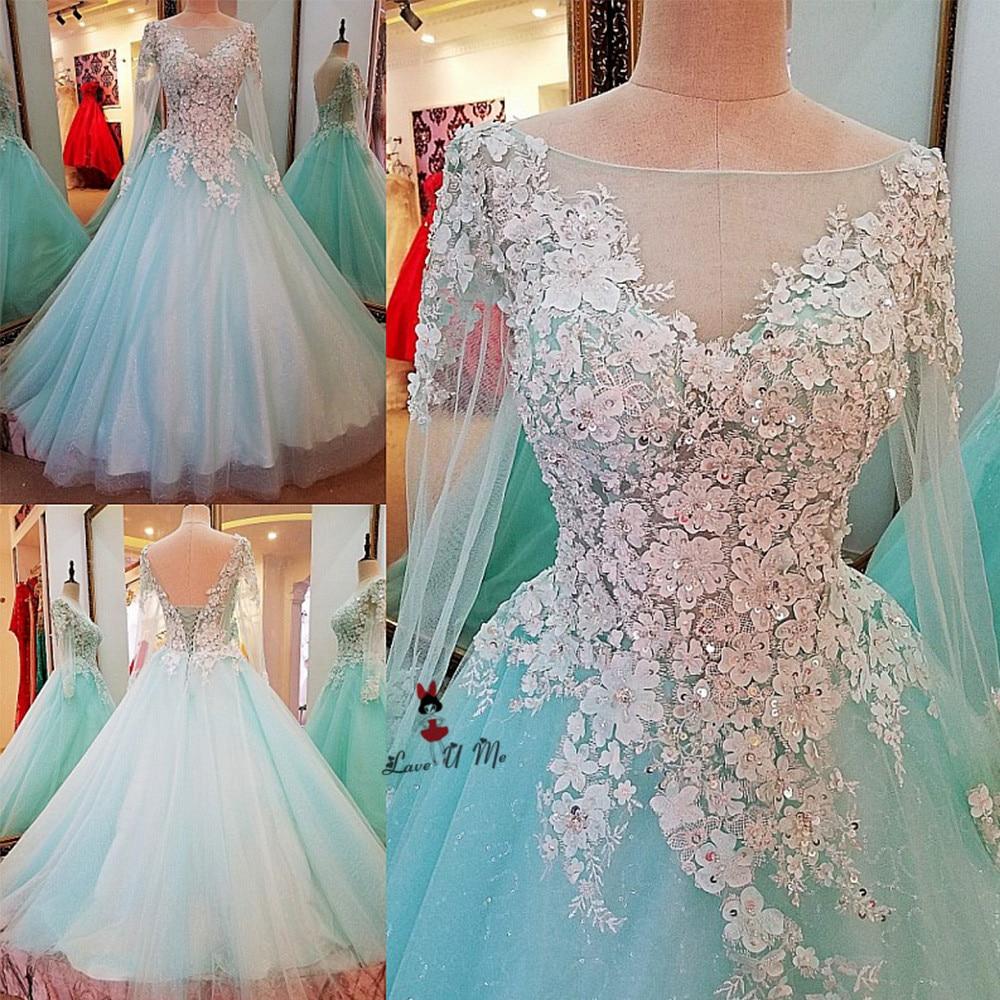 Vestido de Baile Turquoise Prom Dress Long Graduation Dresses 2017 ...