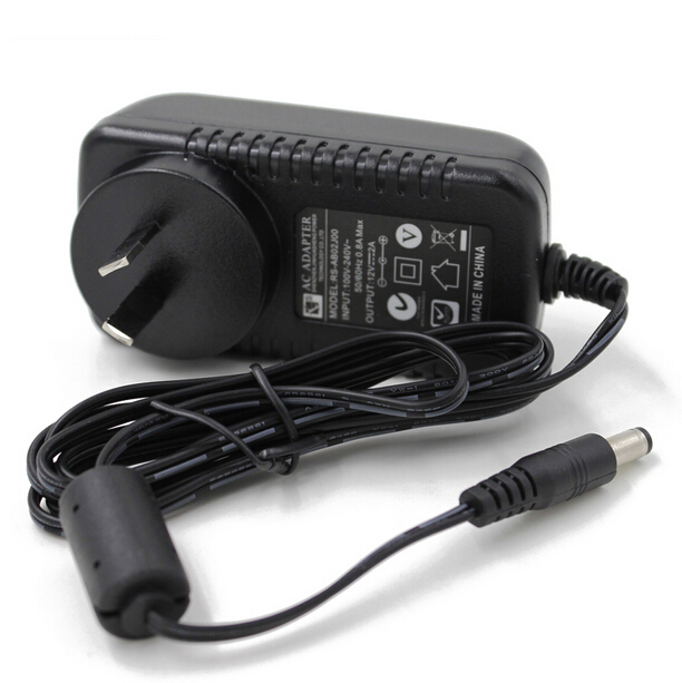 AU Plug 12V 2A AC Wall Charger Power Adapter For WD