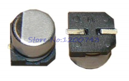 10pcs/lot Electrolytic capacitor 50V100UF 8*10mm <font><b>SMD</b></font> aluminum electrolytic capacitor <font><b>100uf</b></font> <font><b>50v</b></font> image