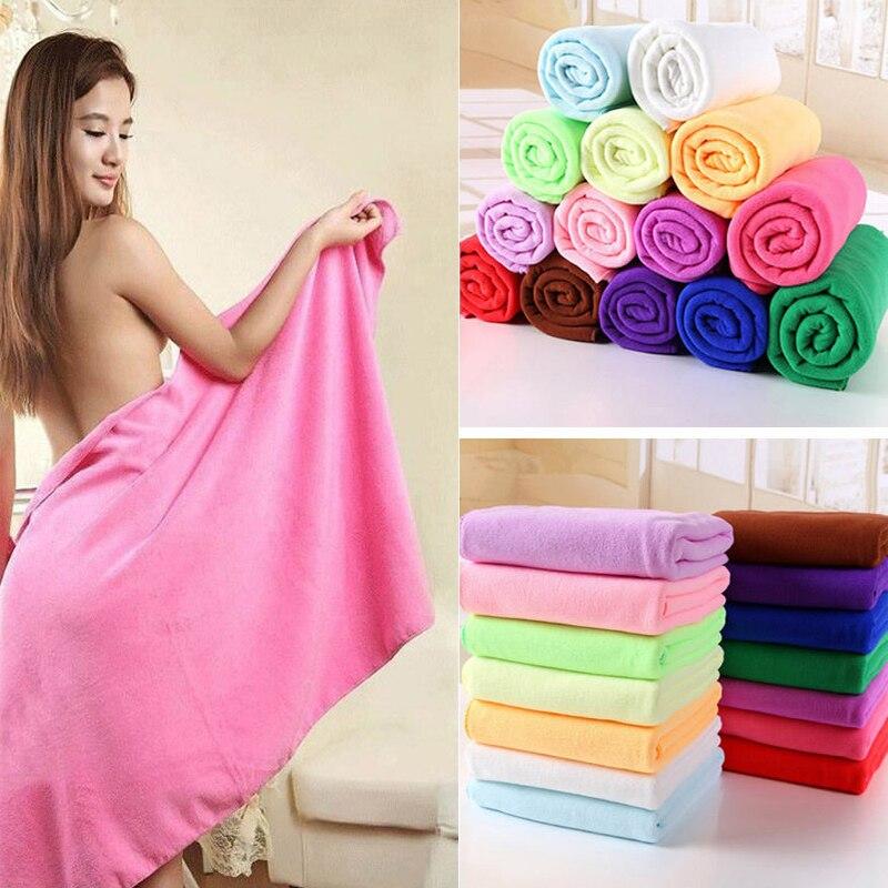 70 x 140 cm Fiber De Bambou Microfibre Rapide Douche Bath Towel Douce Super Absorbant Home Textile Large Thick Towel