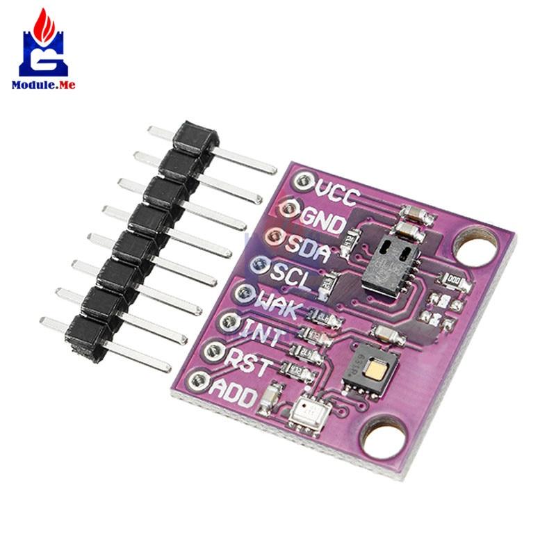 CCS811 + HDC1080 + BMP280 Dióxido De Carbono Altura de Três-em-um Sensor de Temperatura e Umidade Módulo Enrolador