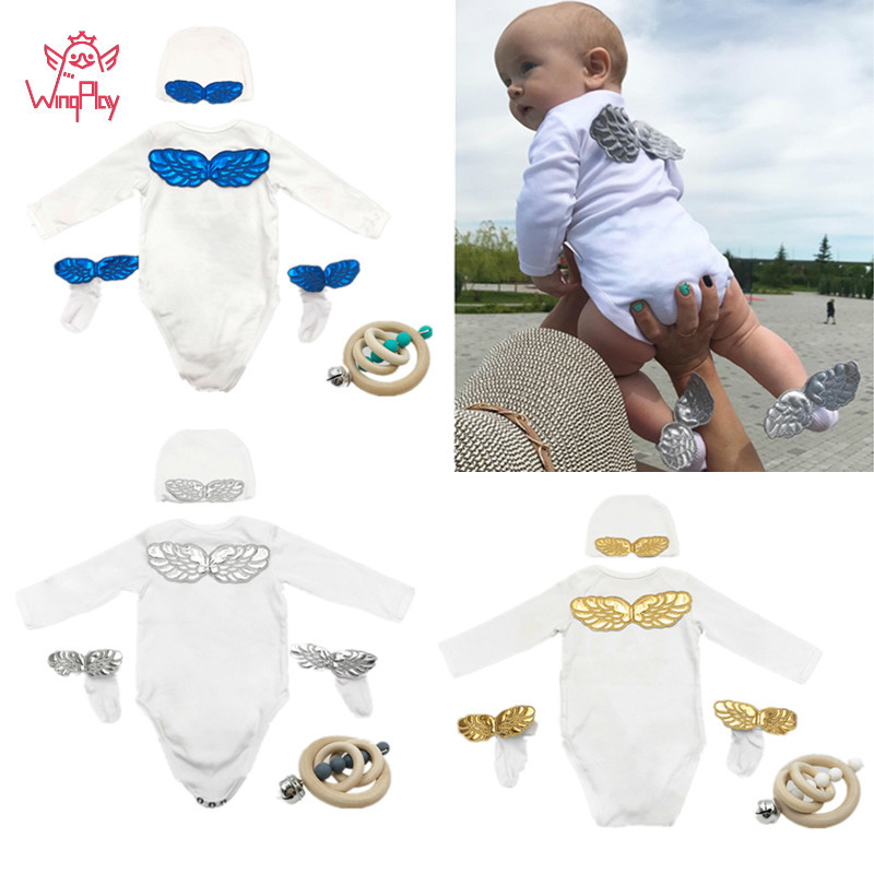 Newborn Baby Clothes Cute Long Sleeve Print Baby Bodysuits Summer Cotton Baby Bodysuits One Pieces Infant Outfits Clothes