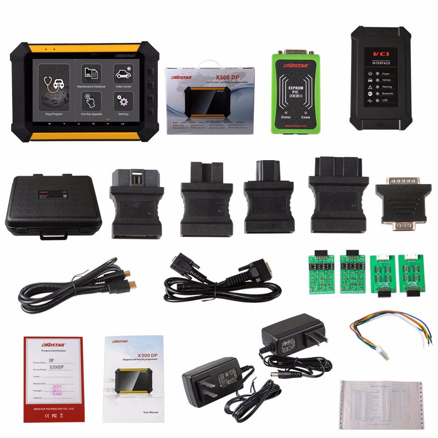 Original OBDSTAR X300 DP Standard Package Immobilizer + odometer adjustment OBDSTAR X300 DP free shipping