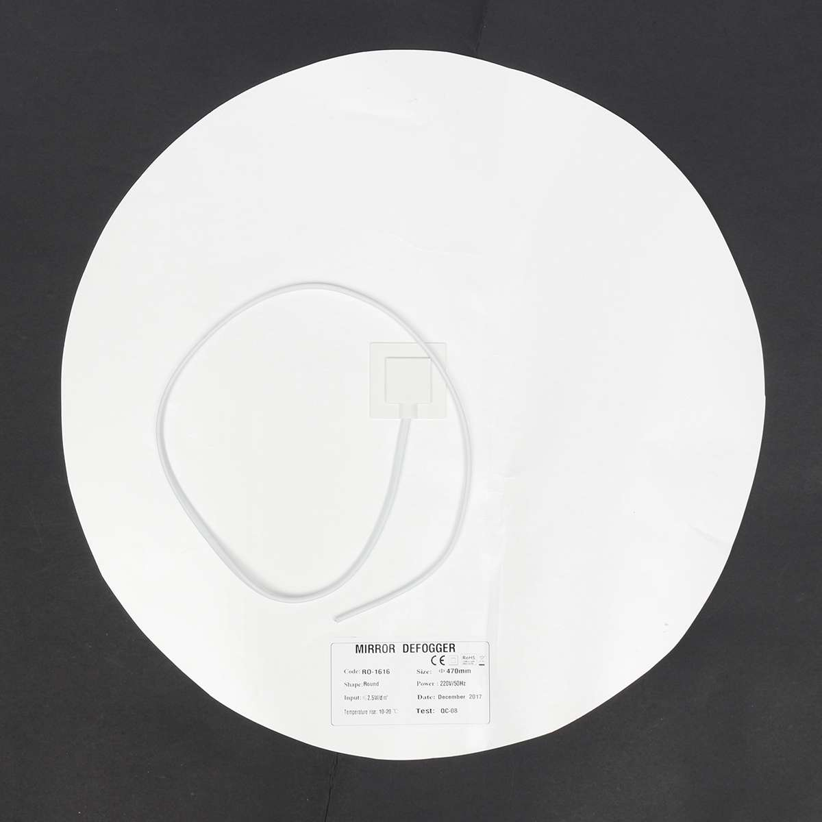 240V Bathroom Mirror Demister Defogger Heating Pad Steam Free 110V 220V