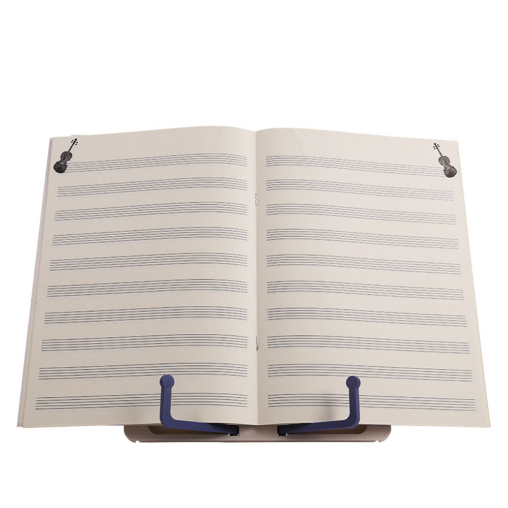 Bookends Folding Tabletop Music Stand Abs Sheet Music Holder Applicable For Guitar Piano Violin Universal Musical Instrument Desk Accessories & Organizer
