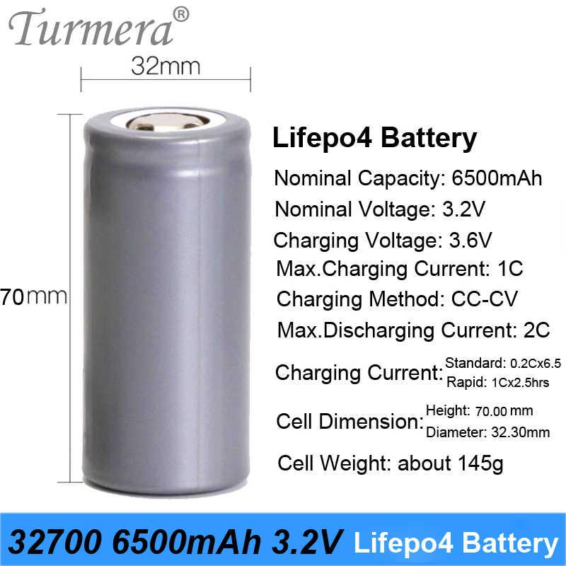 2019 جديد 32700 شاحن بطارية 32700 lifepo4 3.2 فولت 6500 مللي أمبير 33A 55A البطارية الحالية ل بطارية مصباح دراجة كهربائية j3