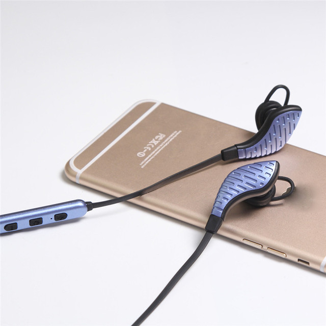 Woweinew High quality The latest Bluetooth 4.1 technology Wireless Bluetooth Headset Sport Stereo Headphone Earphone For iPhone