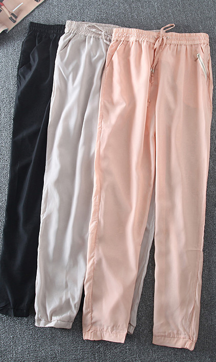 2920e857a8a Promotion 2015 Summer Style New Women Casual Clothes 7 Colors Chiffon  Drawstring Lightweight Loose Pants Hot Sale-in Pants   Capris from Women s  Clothing on ...