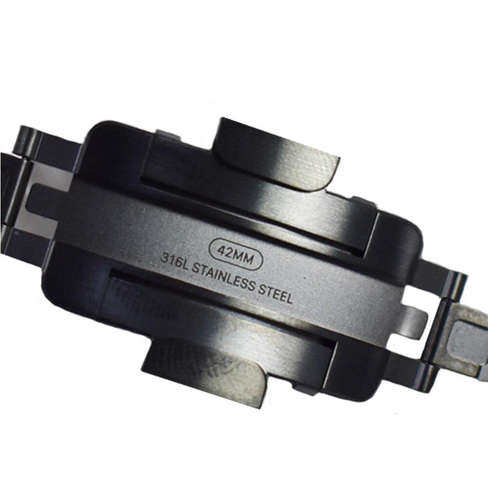 AIGRETTES Véritable Lien Bracelet sangle pour Apple montre bande 42mm/38mm Bracelet En Acier Inoxydable pour iwatch 3 /2/1 Note description