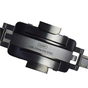 dbaf164283c68 Cresta genuino correa de pulsera de enlace para Apple watch band 42mm 38mm acero  inoxidable para iwatch 3  2 1 nota Descripción