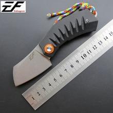 Складной карманный нож D2 стальной нож+ G10 ручка Походный Охотничий Нож EDC ручной инструмент коллекция тактический карманный нож для выживания