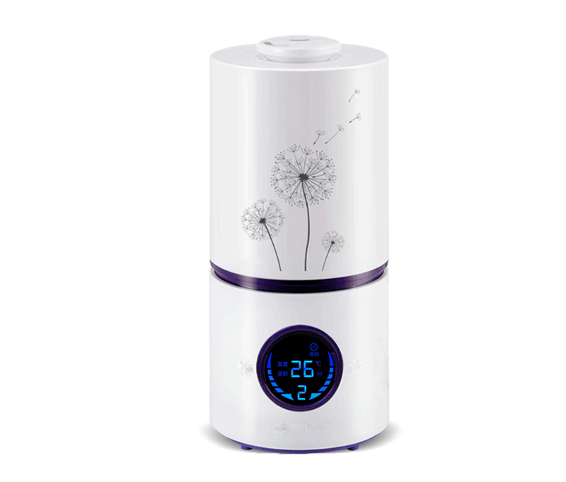 ФОТО Free shipping household mute fragrance LED display   timing humidifier atomizer