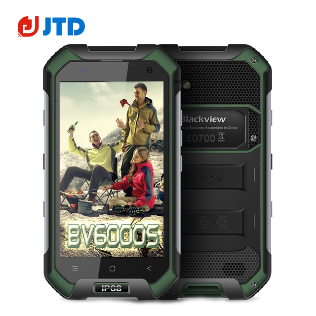 """Blackview BV6000S Smartphone 4.7"""" 4G FDD LTE Android 6.0 Quad Core 2GB 16GB 8.0MP IP68 Waterproof MT6735 Moblie Phone"""