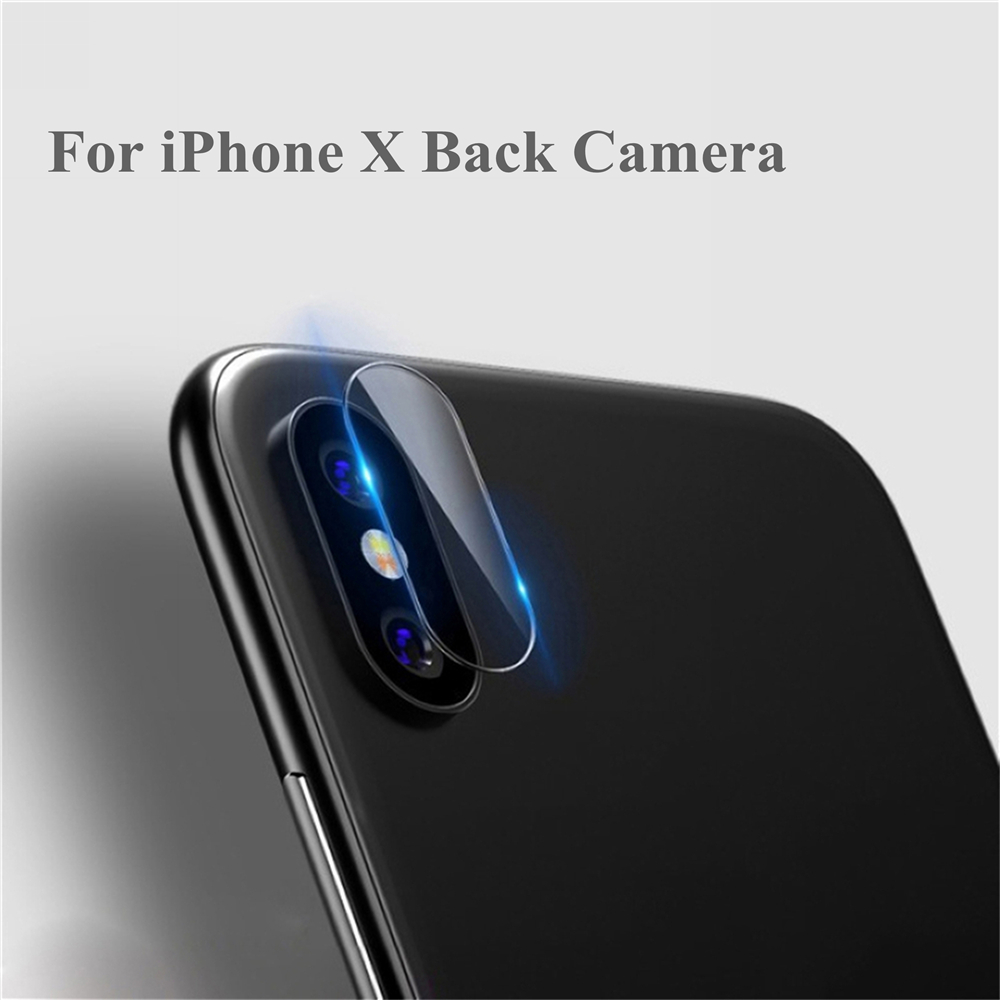 2pcs Back Camera Lens Protector For iPhone X Tempered