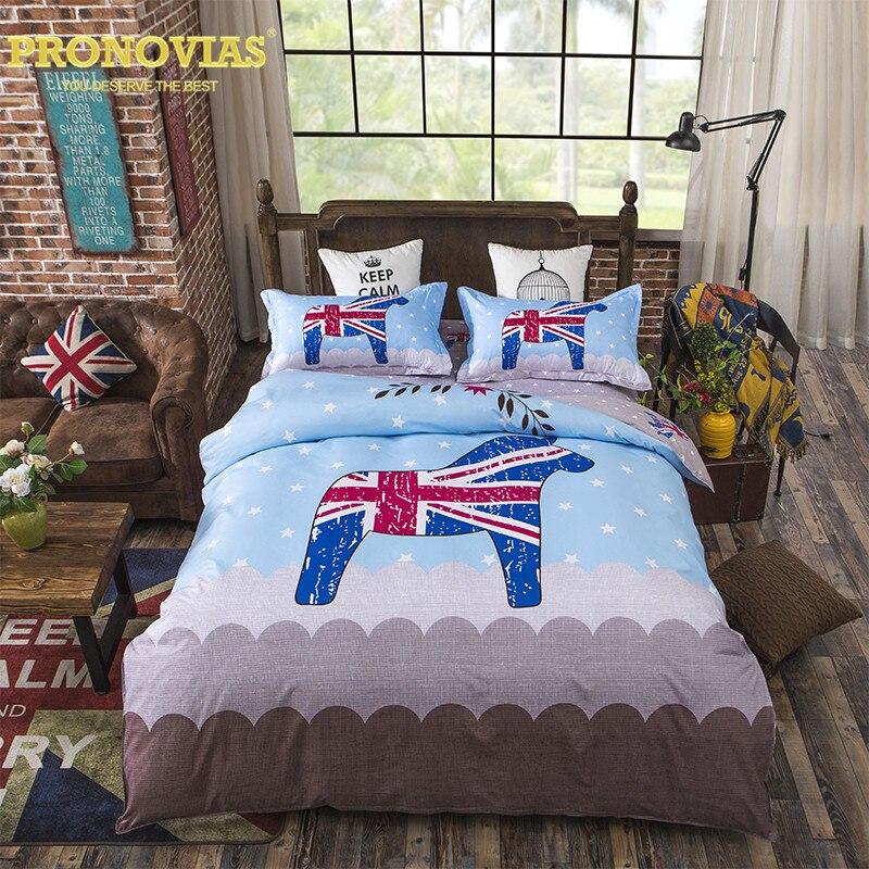 Pronovias jack horse children bedding set duvet cover bed ...