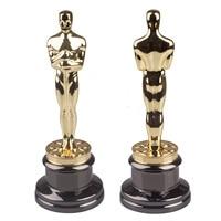 High Quality Oscars Trophy Award Metal Scale Replica Music TV Movie Souvenirs 34cm 5kg
