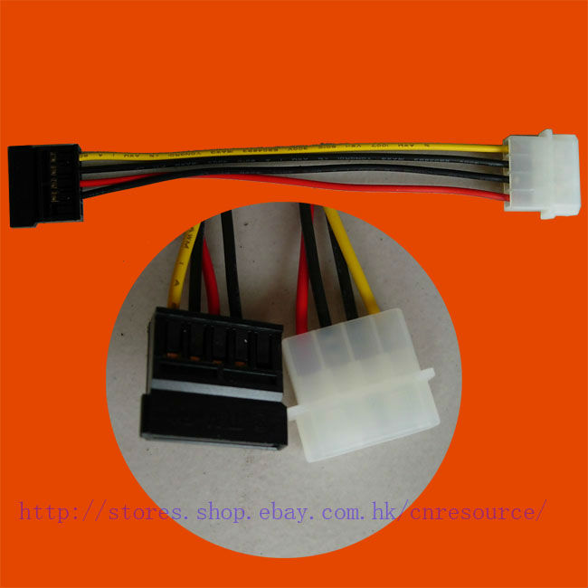 N IDE to Serial ATA SATA Hard Drive Power Adapter Cable