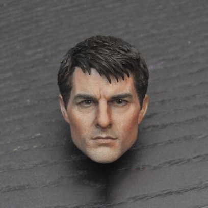 1/6 Scale Edge of Tomorrow Tom Cruise Head Sculpt US Actor Male Head Model best selling home health products prostate enhance renal function massager thermal treatment machine peostate massager