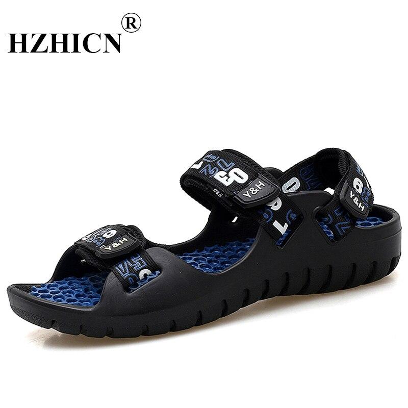 Summer Beach Shoes Men Sandals Roma Leisure Breathable clip toe is cool procrastinate dual-purpose sandal male Chaussure homme