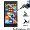 Alta calidad! para Nokia Lumia 830 9 H 0.26 mm Premium templado Protector de pantalla 2.5D para Nokia 830 película