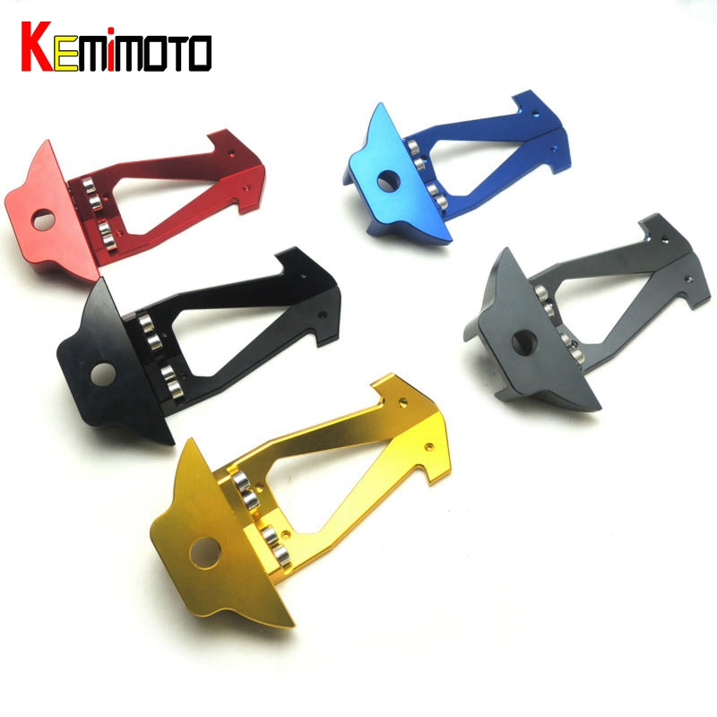 KEMiMOTO 2015 2016 for Yamaha R3 CNC Aluminium Protection Front Shock Protector for YAMAHA YZF-R3 Motorcycle Parts New Brand 2015 2016 2015 2015