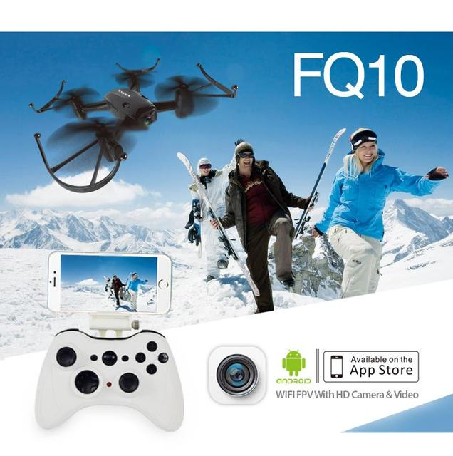 F18047 FQ777 FQ10 Wi-Fi Летательный Аппарат с 720 P Камеры RTF Гироскопа RC Quadcopter 2.4 ГГц Карманный Мини Drone FPV Дрон RC Вертолет