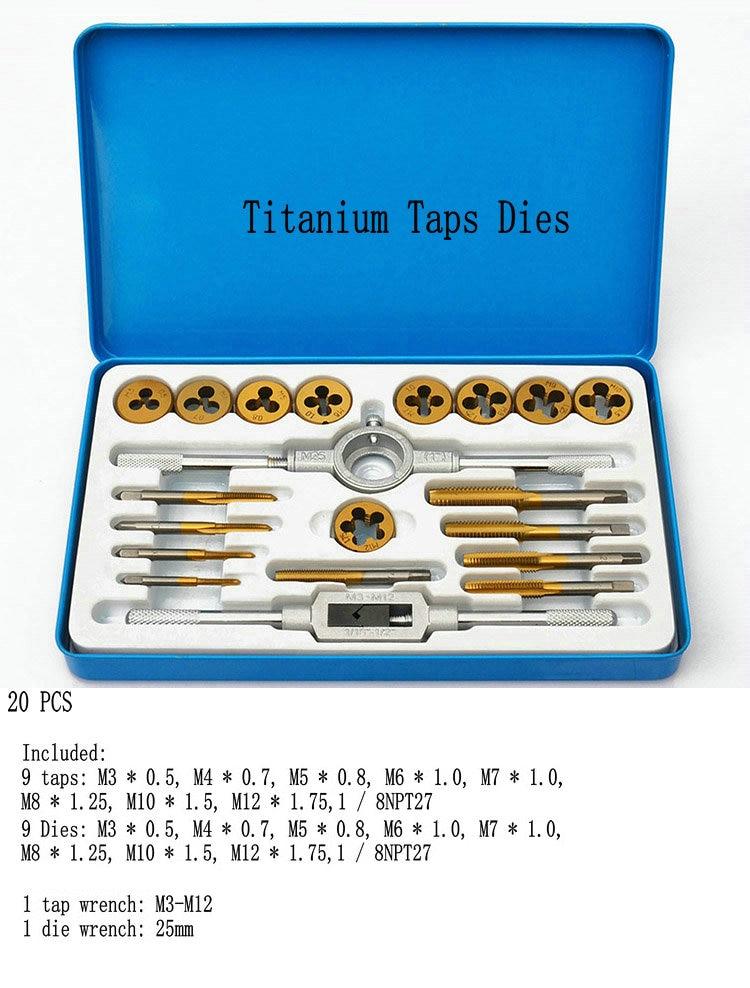 Taps Banya Hardware Tools / hand tapping wrench Banya cutter hand / 20PCS  цены