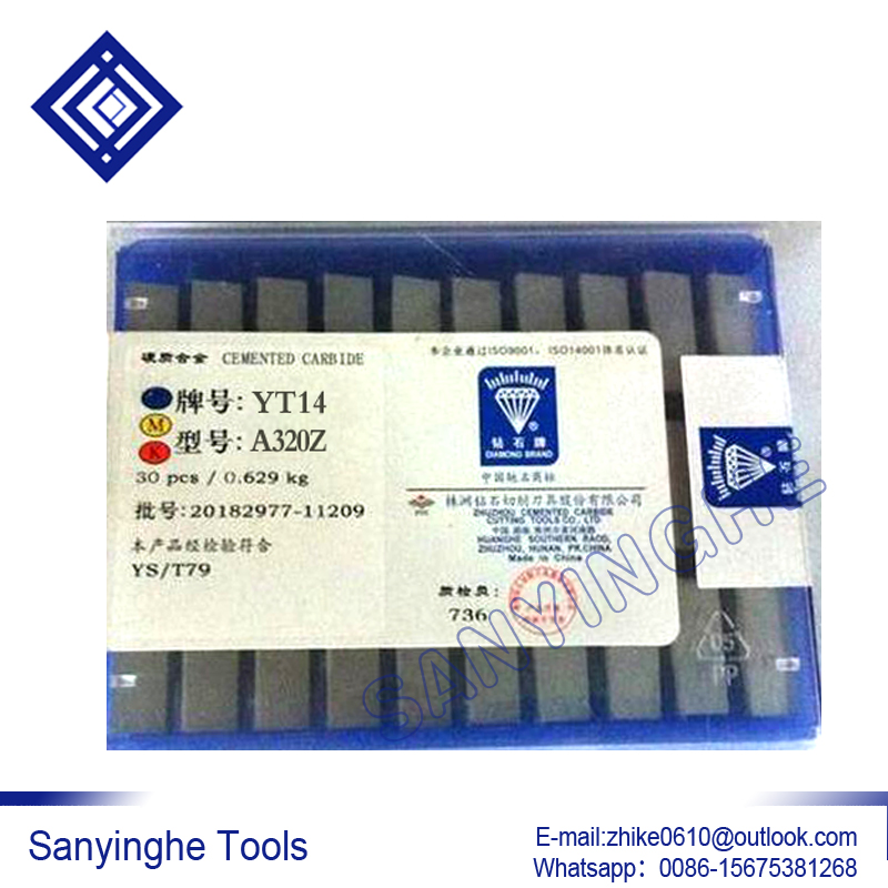 High quality YT14 A320Z sanyinghe Tungsten Carbide Brazed Tip Lathe Tool 30pcs lots