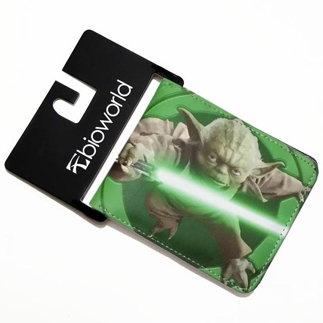 Dessin Anime Portefeuille Star Wars Portefeuilles Yoda Serie Darth
