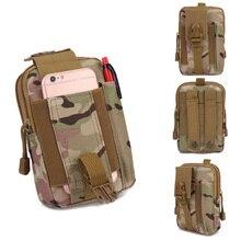 Camouflage Waist Bag Unisex Zipper Chest Street Sport Casuale Fanny Pack Girl Boy Belt Bags Fashion Phone