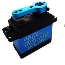 شحن مجاني جديد DS3325MG تحديث أجهزة التحكم عن بعد 25 كجم تروس معدنية كاملة أجهزة رقمية baja سيرفو نسخة مضادة للماء لألعاب السيارات RC