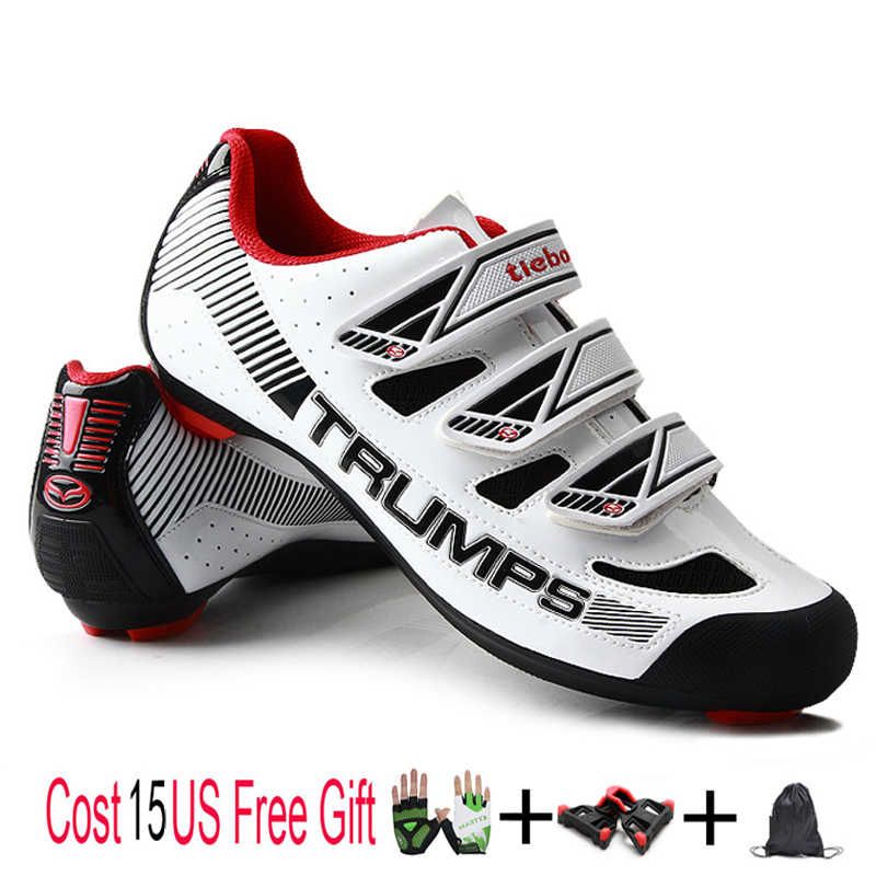 Teibao Cycling Shoes Road Outdoor Sapatilha Ciclismo MTB Shoes Mountain Bike Shoes Bycicle Professional Sneakers Men Women