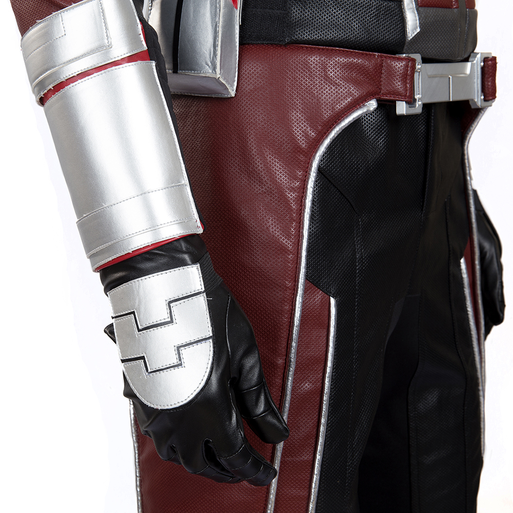 MANLUYUNXIAO High Quality Upgraded Antman Costume from Civil War Ant Man Costume Suit With Accessory Halloween Cosplay Costume in Movie TV costumes from Novelty Special Use