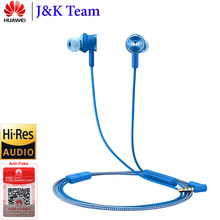 Huawei Headset Huawei Honor Earphone Monster 2 Hi Res AM17 3.5mm In-Ear with Remote and Microphone Wire Control 1.2m Headset(China)