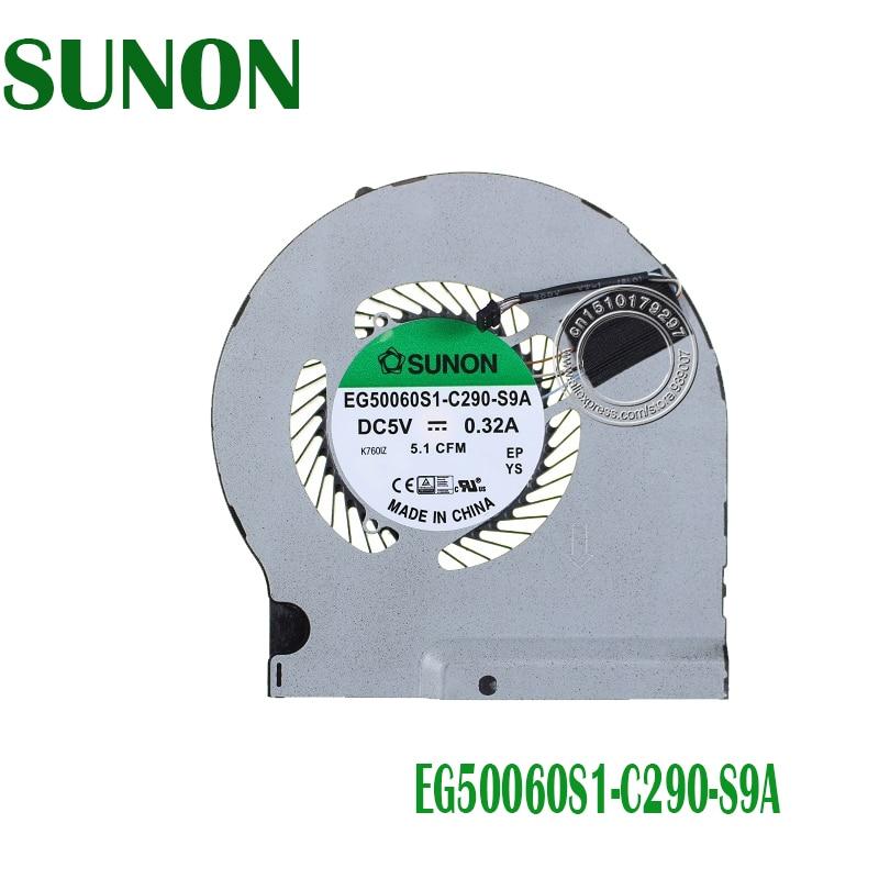 SUNON COOLING FAN EG50060S1 C290 S9A DC5V 0 32A 5 1CFM