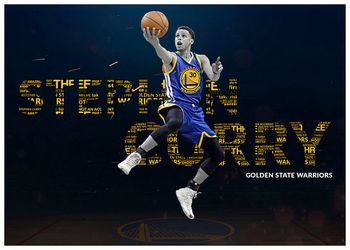 Stephen Curry Basketball Star Art Coated paper Painting Home Room Decor High Quailty printing Wallpaper Modern Decoration 5
